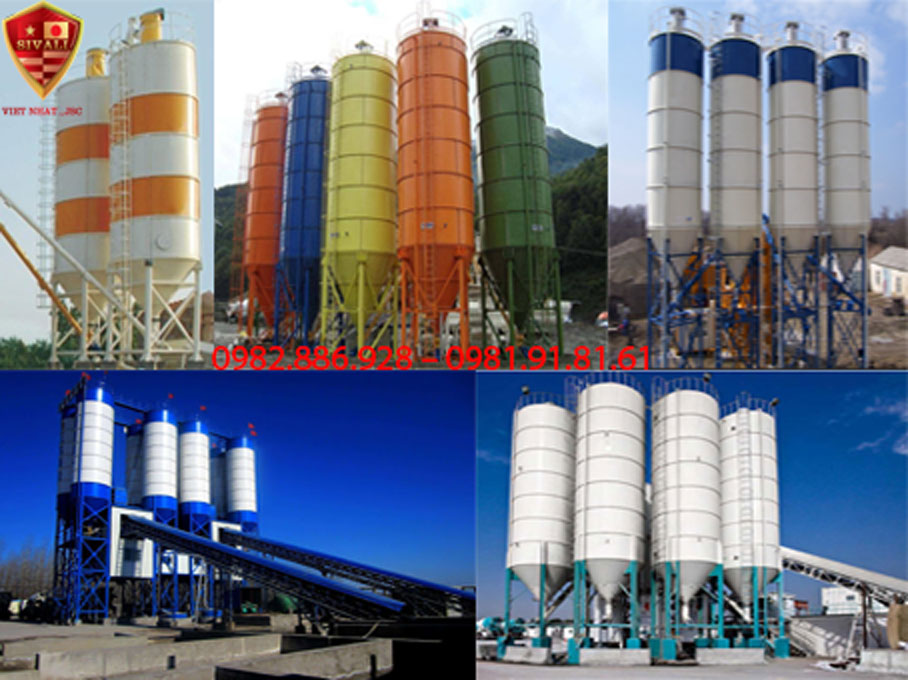 Báo giá silo xi măng các loại chất lượng tốt – Giá rẻ vô địch